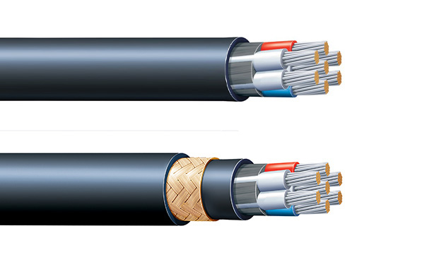 Type P control cable